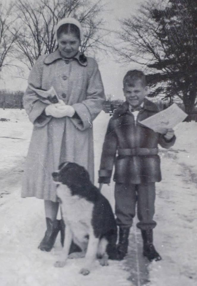 Carol and Lou Wilson early 1950's