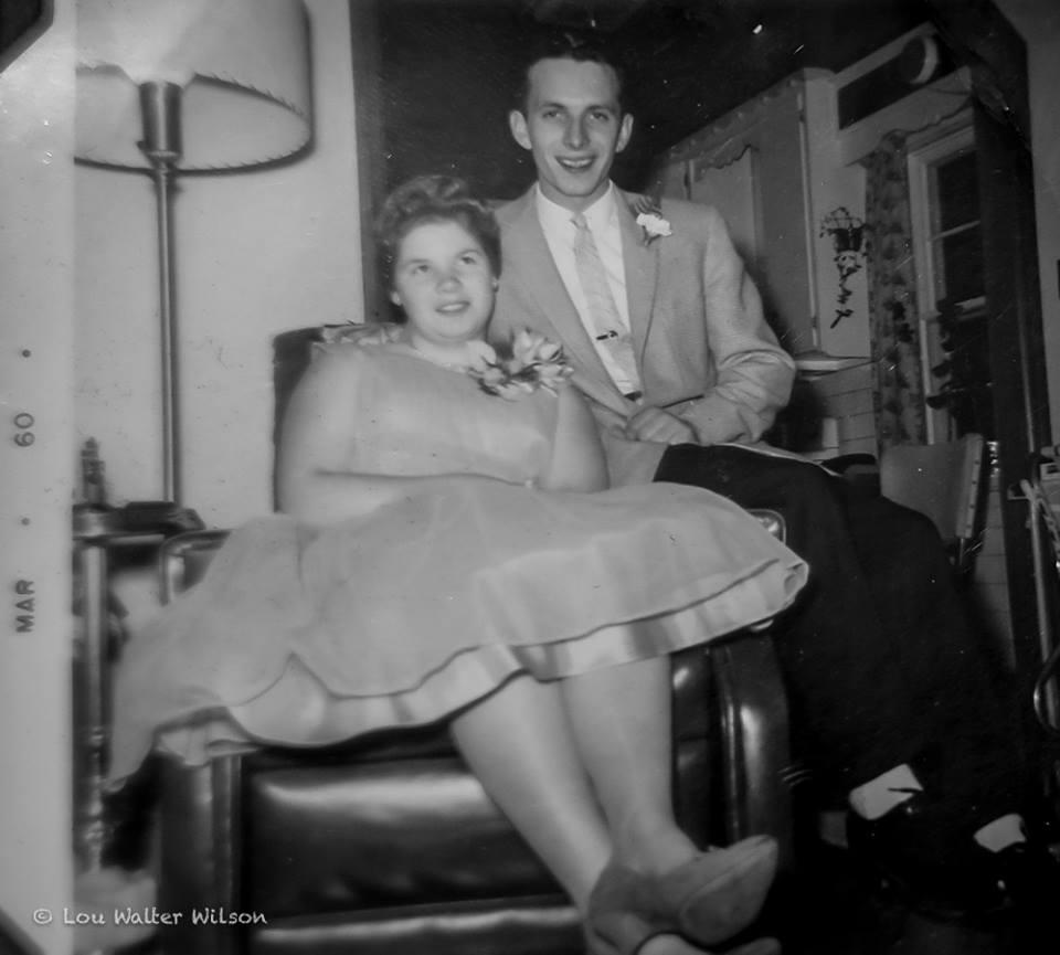 Carol Wilson and Don McKinnon early 1960,s