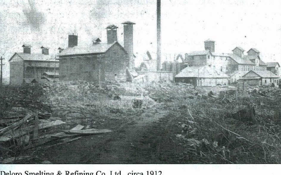 Deloro Smelting and Refining Co.  1912
