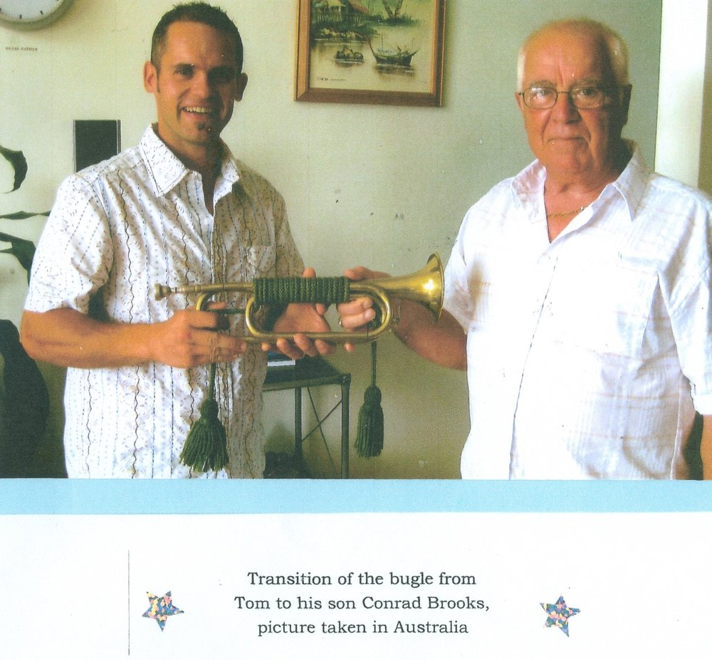 Tom Brooks Conrad Brooks, transfer of Bugle.jpg