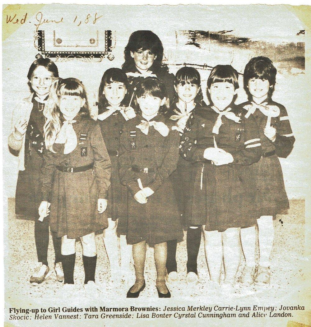Brownies Graduates 1988