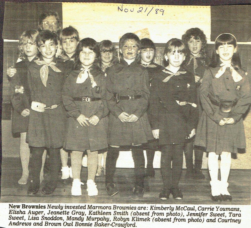 Brownies 1989