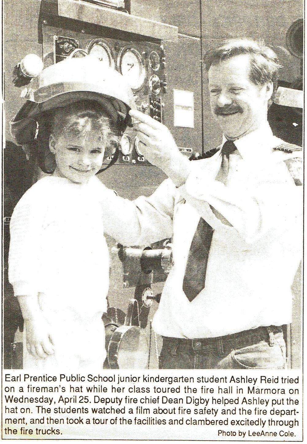 Fire department c.1988 Dean Digby