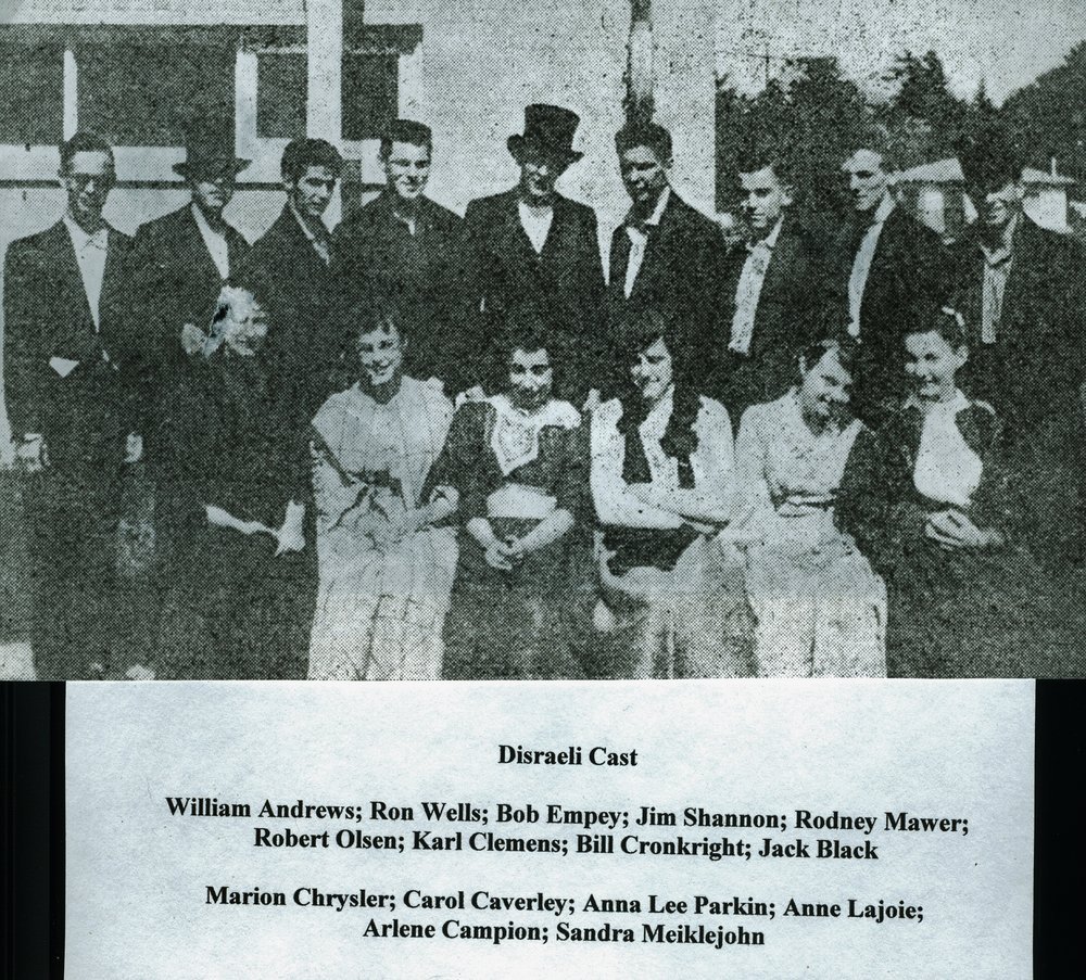 Marmora High School  Disraeli Cast.jpg