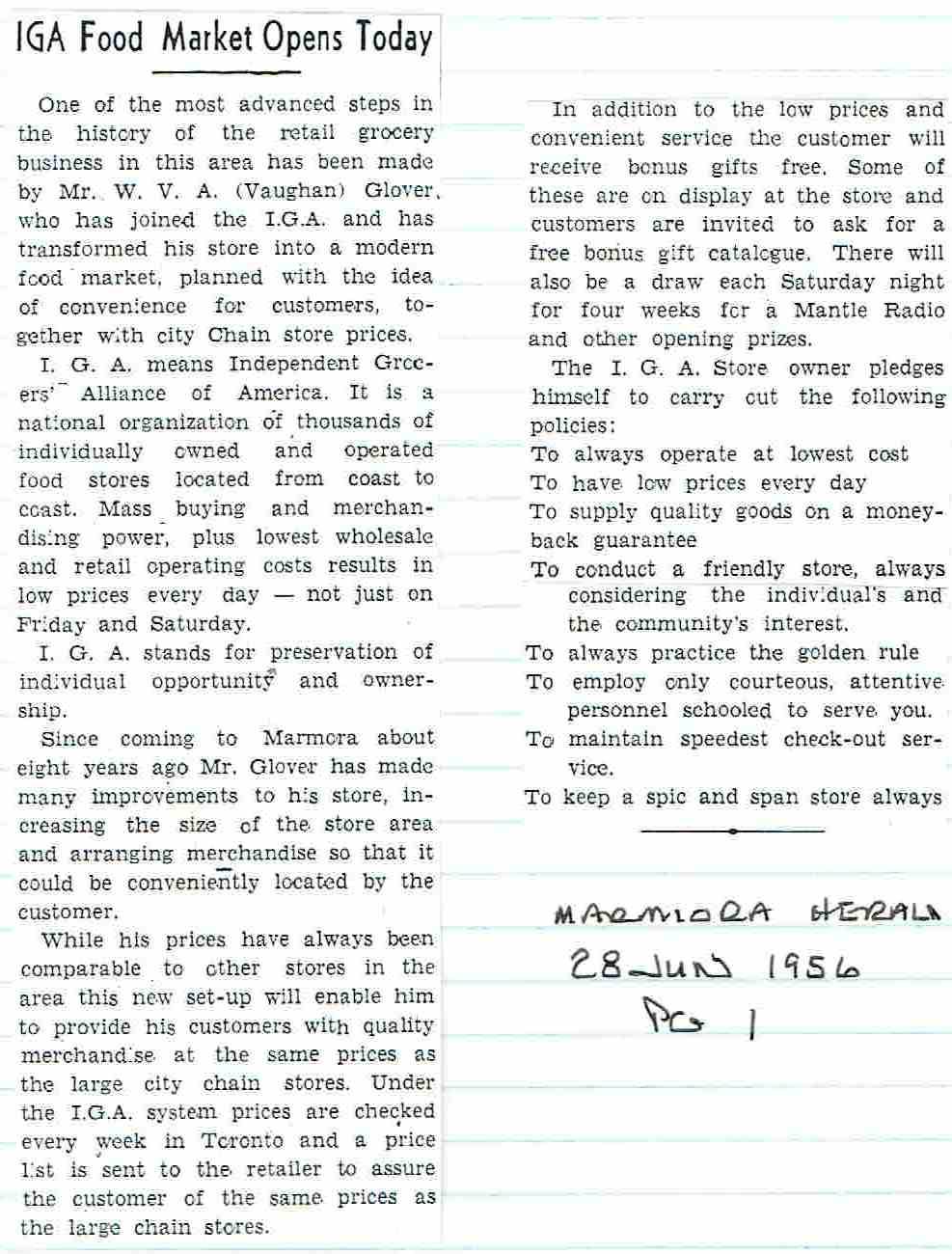 25 Foryth IGA 1956.JPG