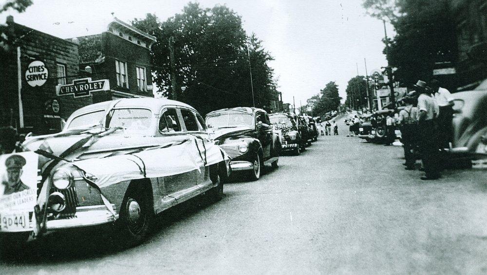 Parade,  George Forestell's Garage.jpg