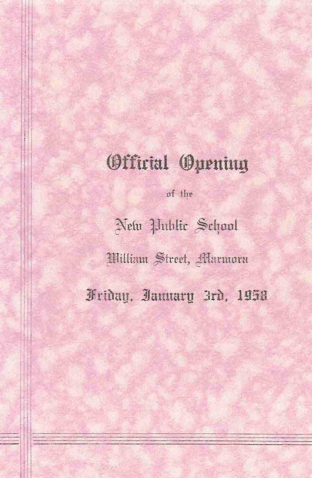 Marmora Public School 1958.JPG