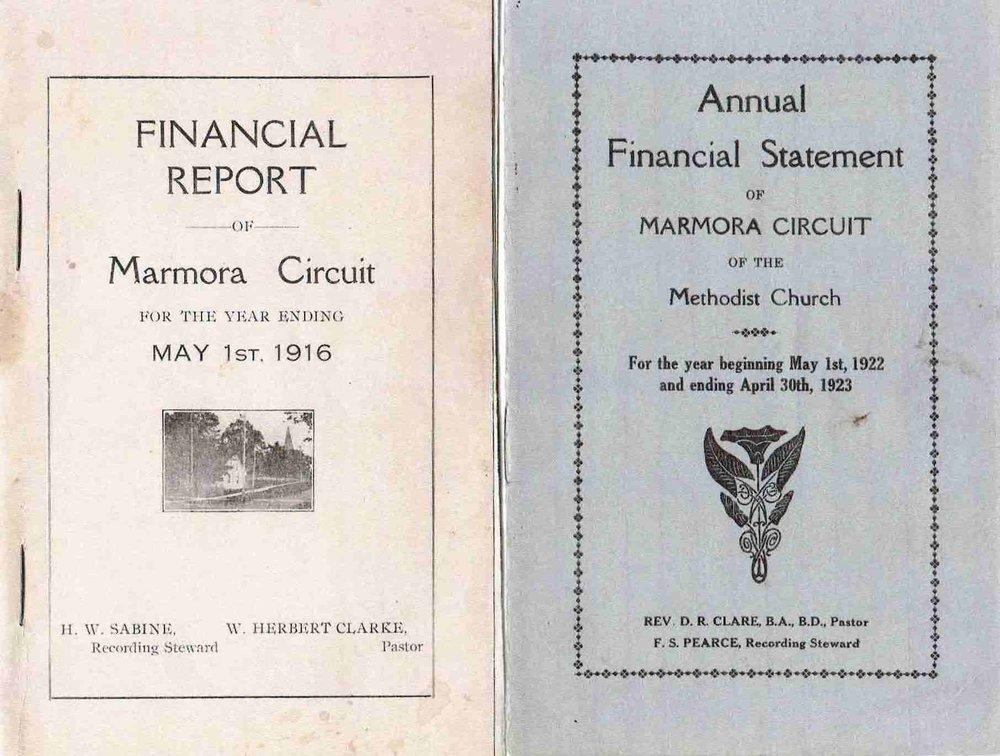 1916 1922 Methodist church financials.JPG