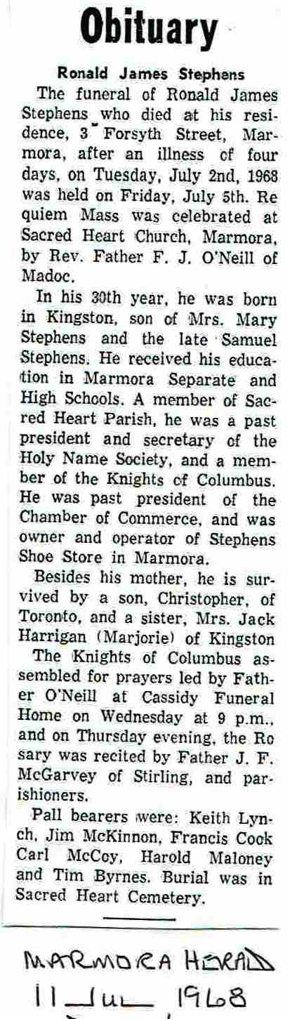 Stephens,  Ronald James  Obit.JPG