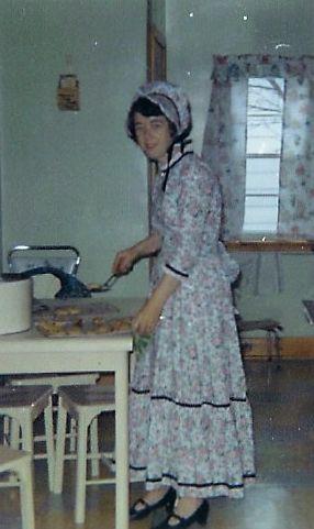 1967 Doris VanVolkenburg, Centennial costume