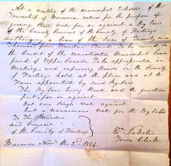Clerk Inkster letter re road by law.jpg