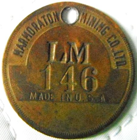 John Croskery sent his tag #LM146