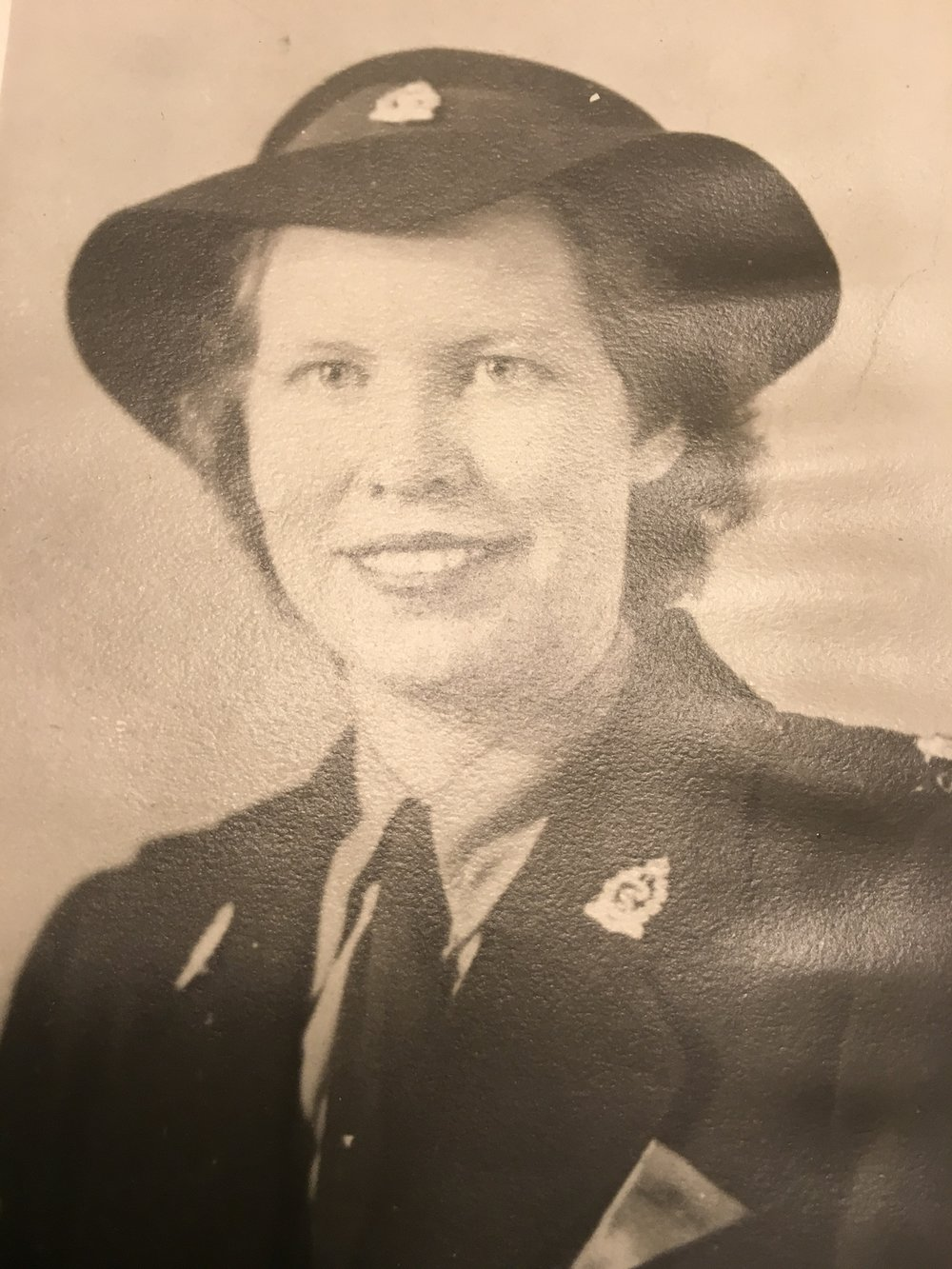 Nursing sister Ellenore Green Barker