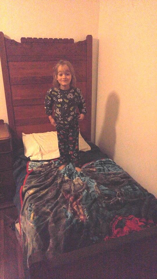 bed from the Hogan Hotel & Cooper, ggg-grandchild of Denis Hogan