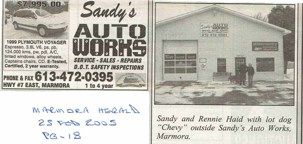 2005 Sandy's Auto works.JPG