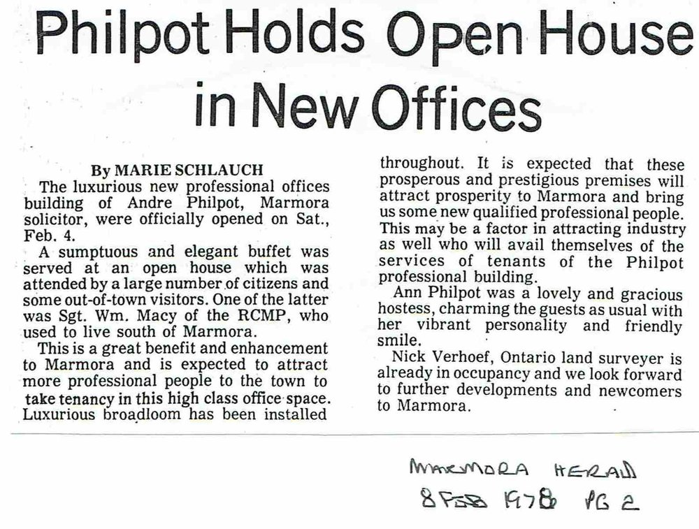 1978 Philpot Law office