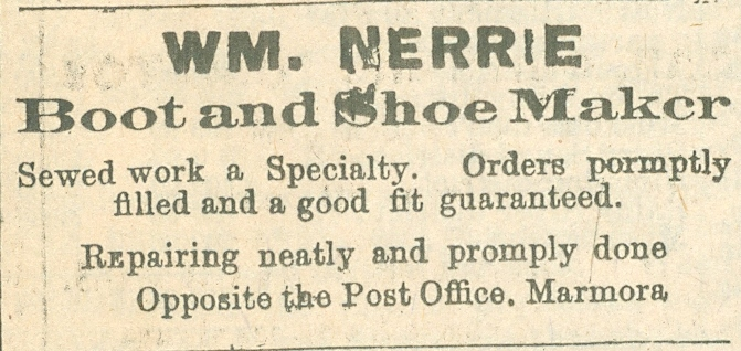 Wm Nerrie, Shoemaker.jpg