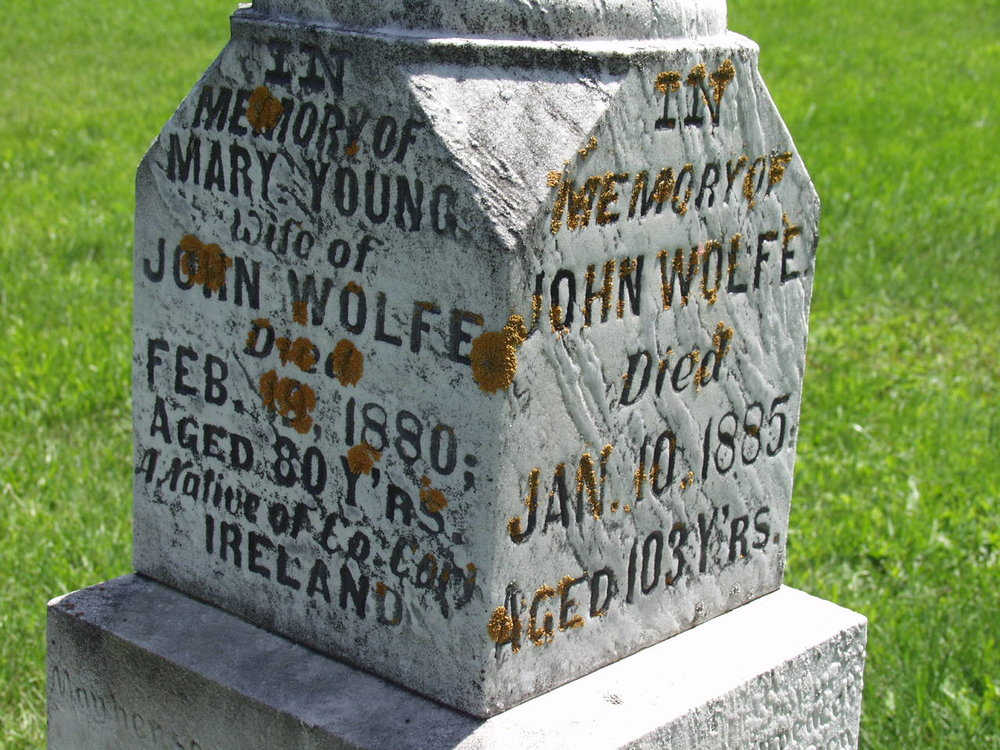John Wolfe grave stone 1.jpg
