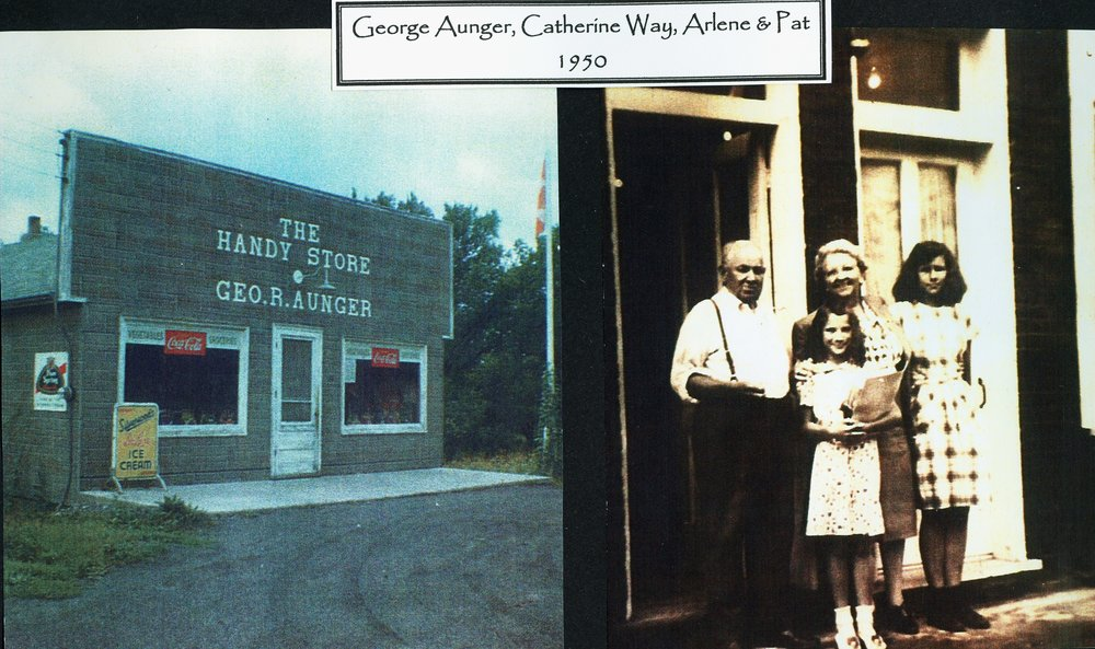 George R. Aunger, Handy Store Madoc St....south side and a bit east of Victoria St.