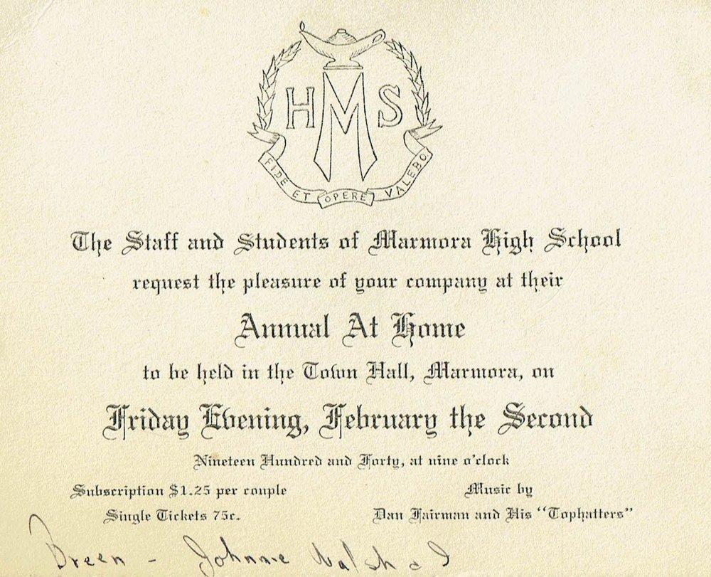 High school dance 1940 Fairman Tophatters.jpg