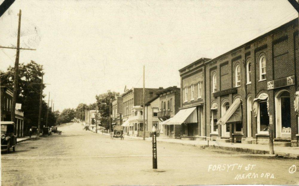 1907  Looking North