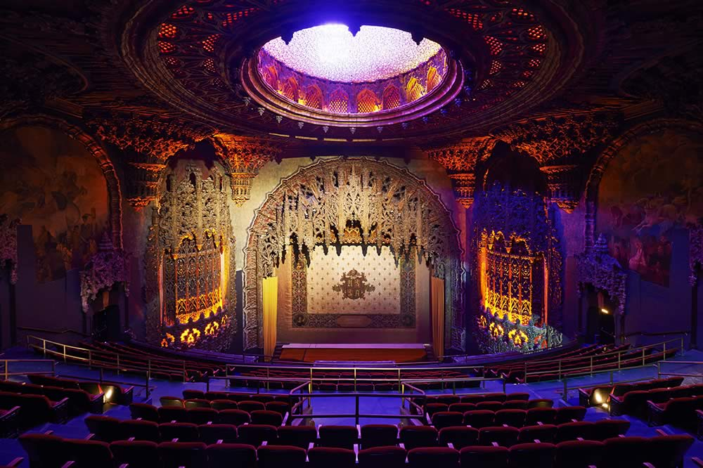 The historic Theater at The Ace Hotel, built in the 1920's