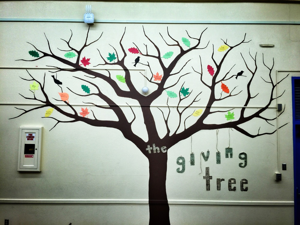 Rosewood Giving Tree Aug.  24, 2015