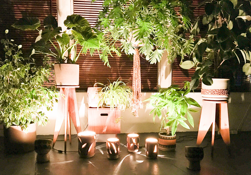LANTERNS - One-of-a-kind dimensional lightingby Kat & Roger