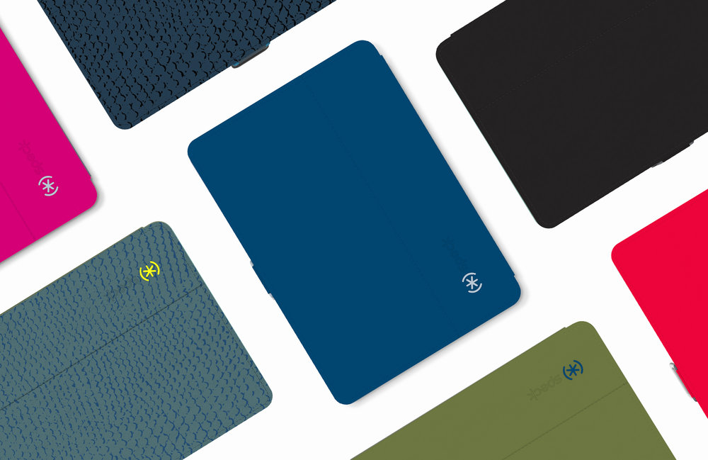 The StyleFolio Case is the global best selling iPad case. The case was available in 9 colorways.