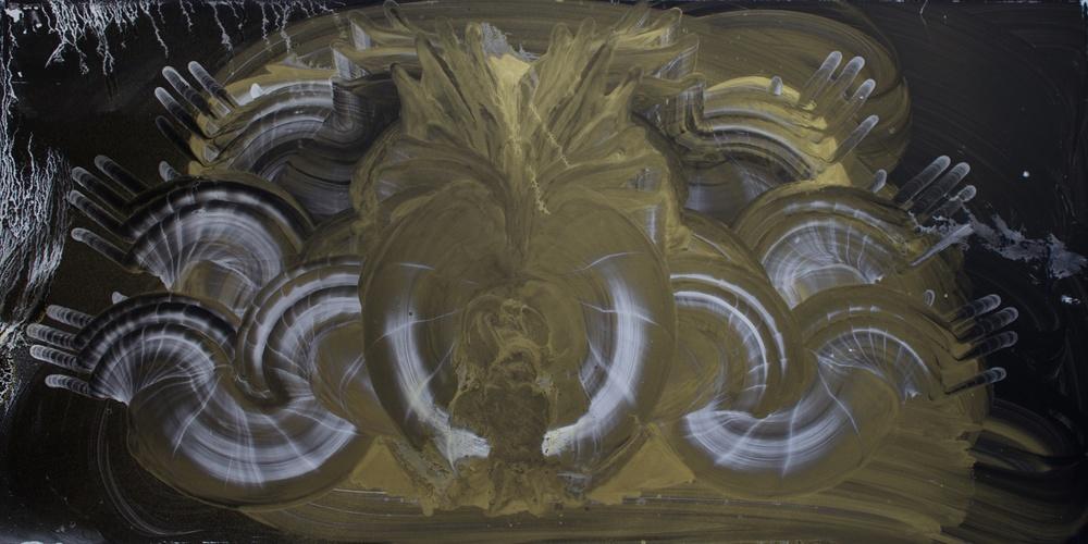 """Oil on Masonite 24"""" x 48"""" (61cm x 122cm)  2014"""