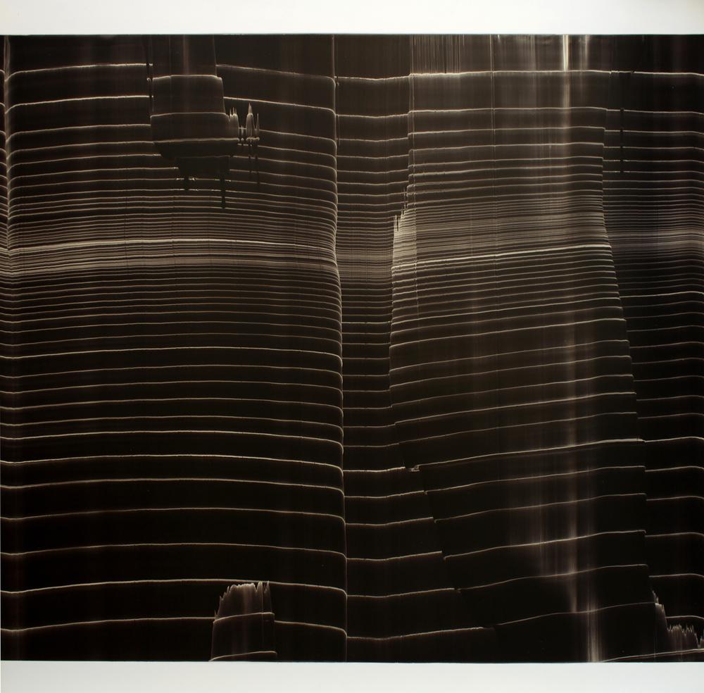 """Oil on masonite 48"""" x 48"""" (122cm x 122cm)  2000-2003"""