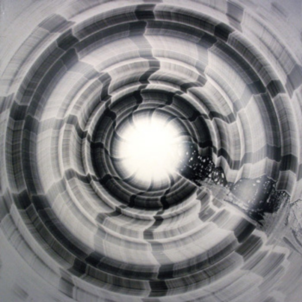 "Oil on Canvas 59"" X 59"" (150cm X 150cm)   2003"