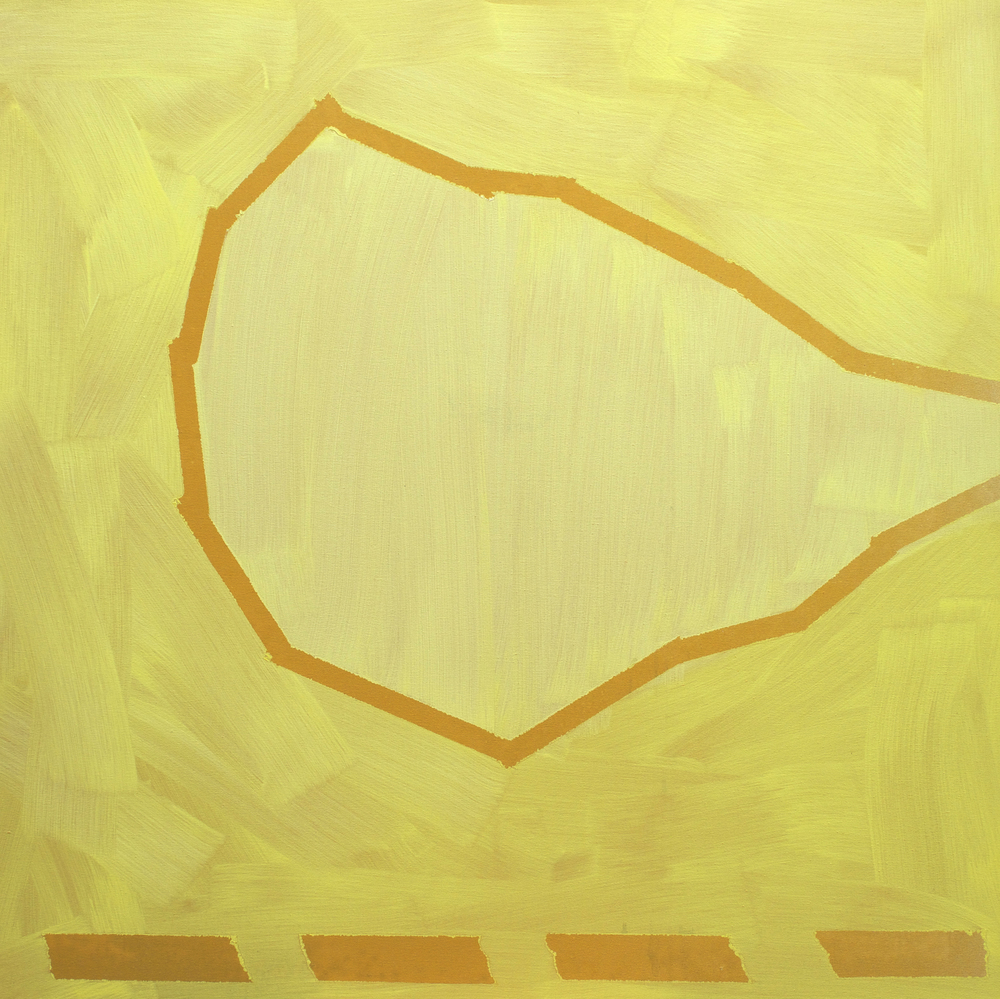 "Oil on canvas, 40"" x 40"" (100cm x 100cm) 2014"
