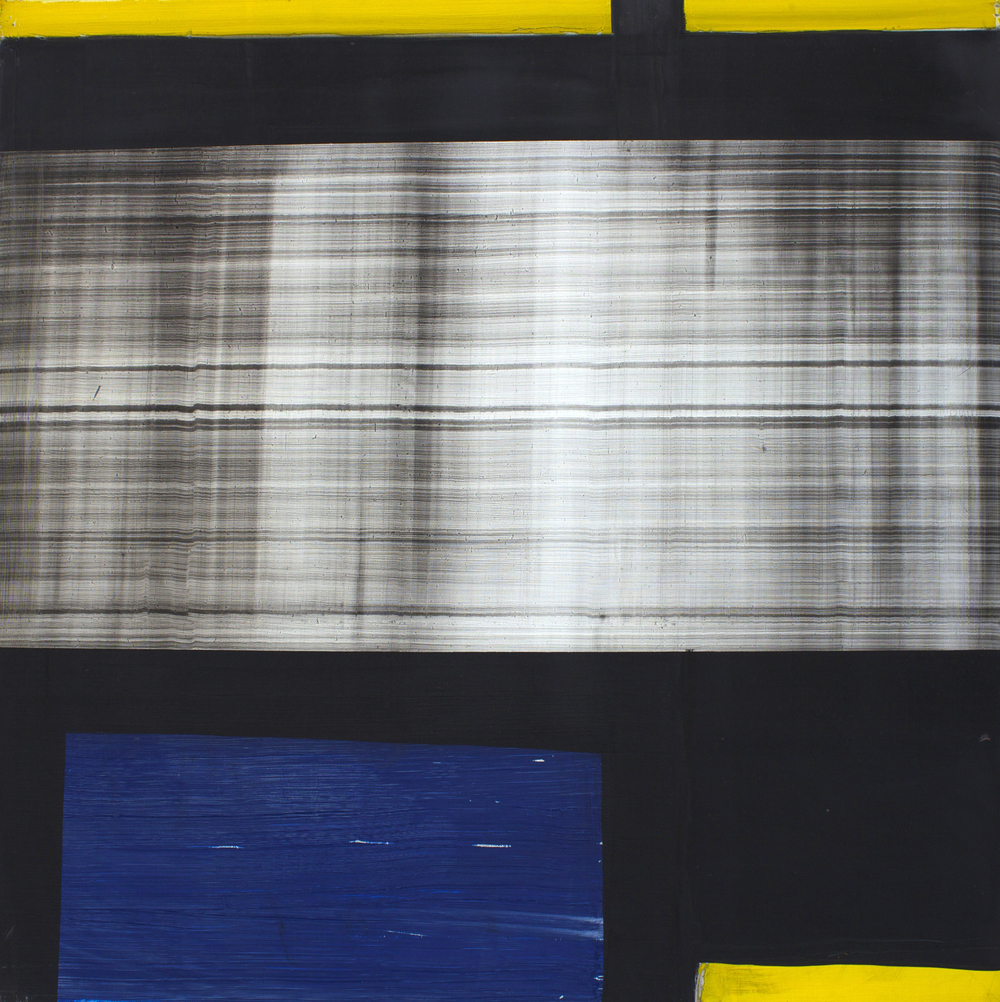 "Oil on canvas, 76""x76"" (193cm x 193cm), 2011"