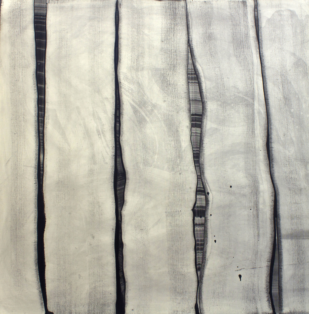 "Oil on linen, 56"" x 56"" (142cm x 142cm), 2011"