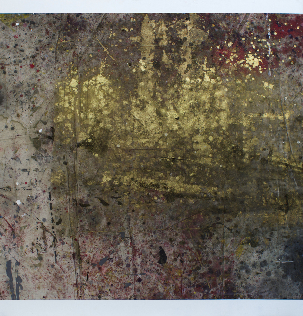 "Oil on canvas, 52"" x 52"" (132cm x 132cm), 2014"