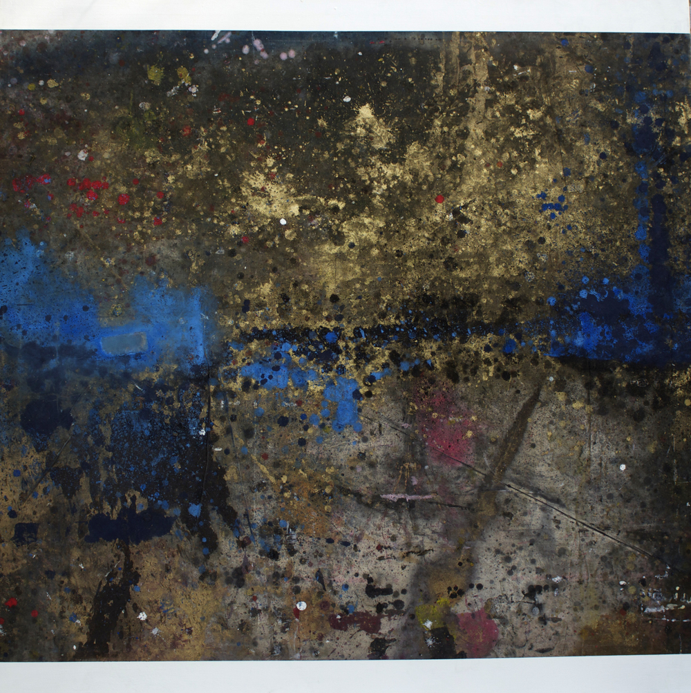 "Oil on canvas, 54"" x 54"" (137cm x 137cm), 2014"