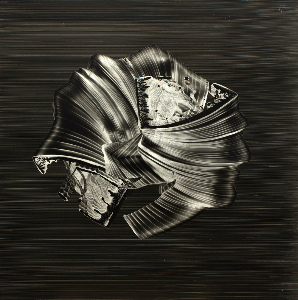 "Oil on masonite, 24"" x 24"" (61cm x 61cm), 2010"