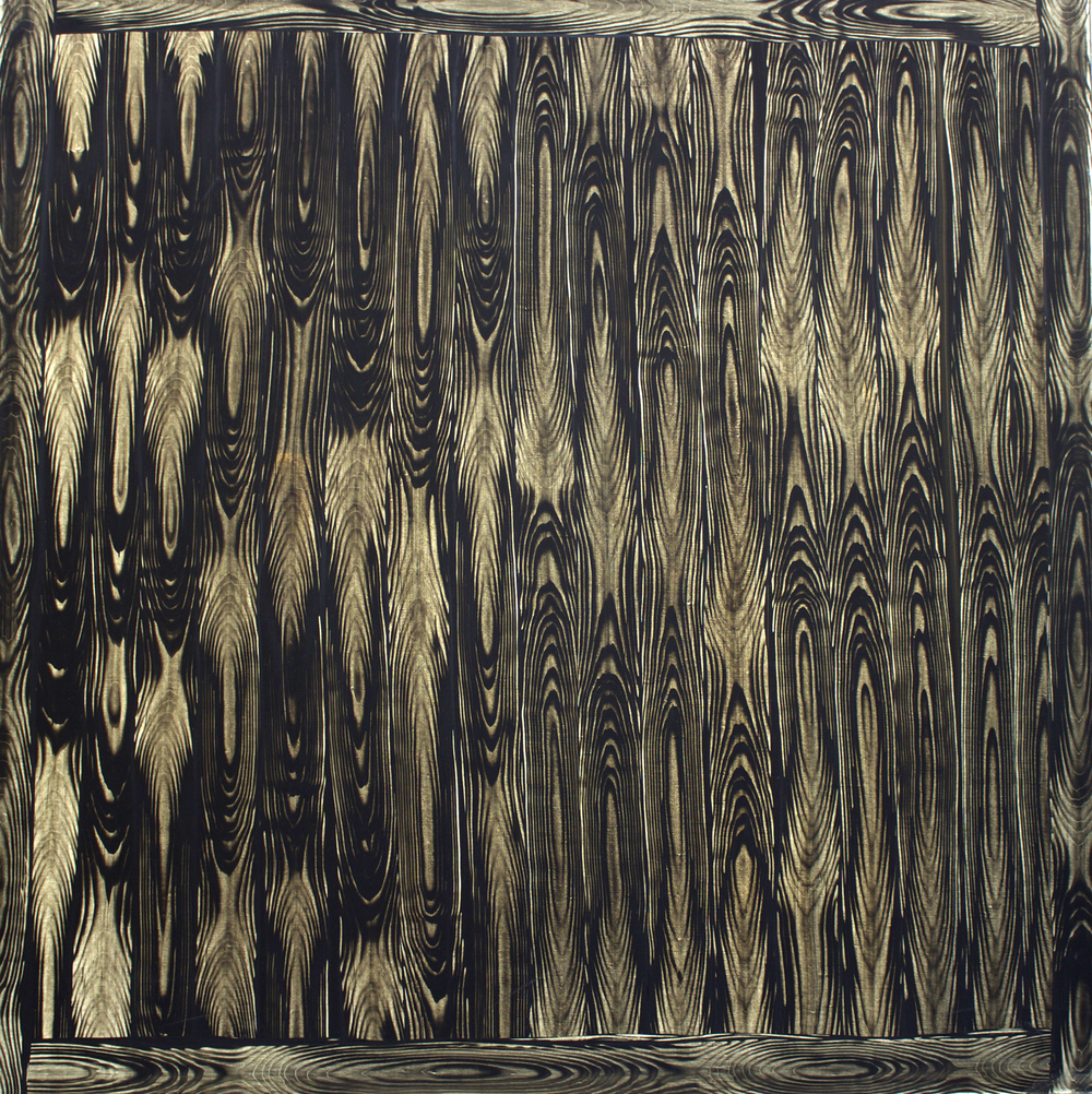 "Oil on Linen, 54""x54"" (137cm x 137cm)  2010"