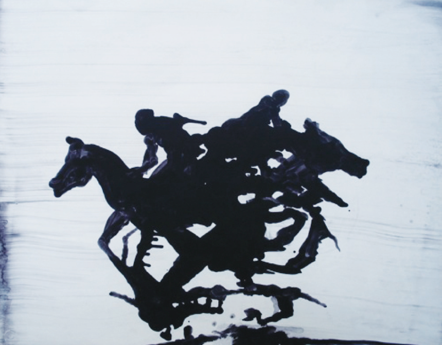 Untitled No.3 (Horse Series)_Oil on paper_23inx29in_2011.png