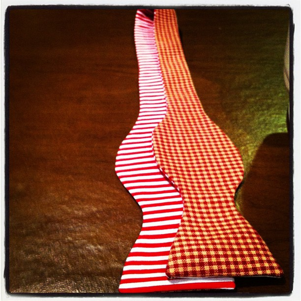 Checkered and stripe reversible