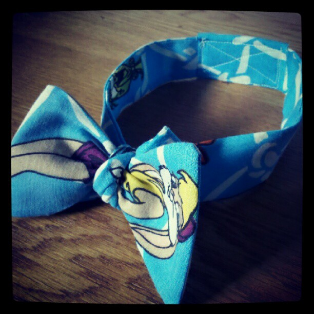 Space jam bow (Taken with  Instagram )