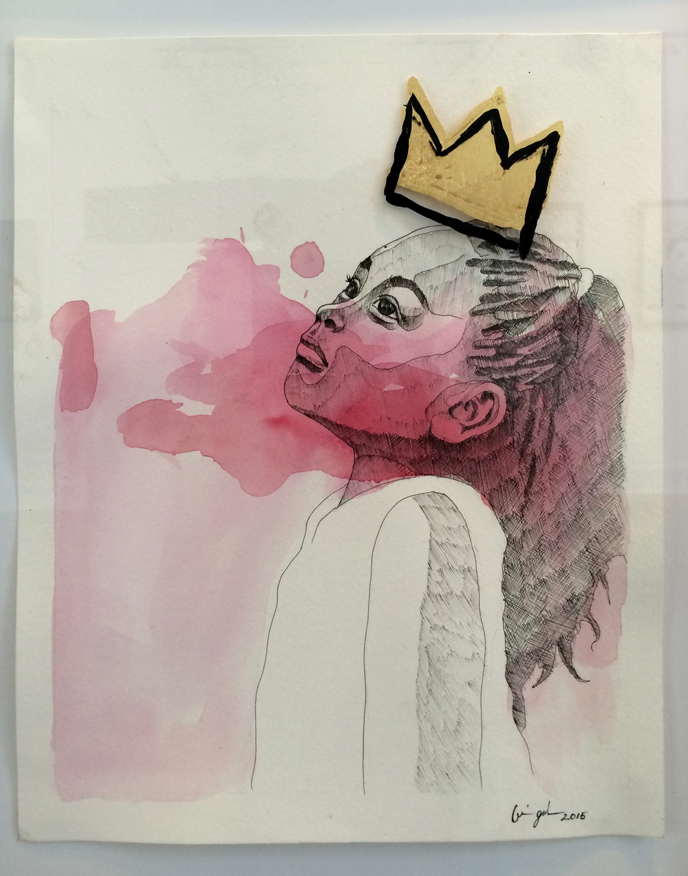 (SOLD) CMYK: Kings & Queens of promise