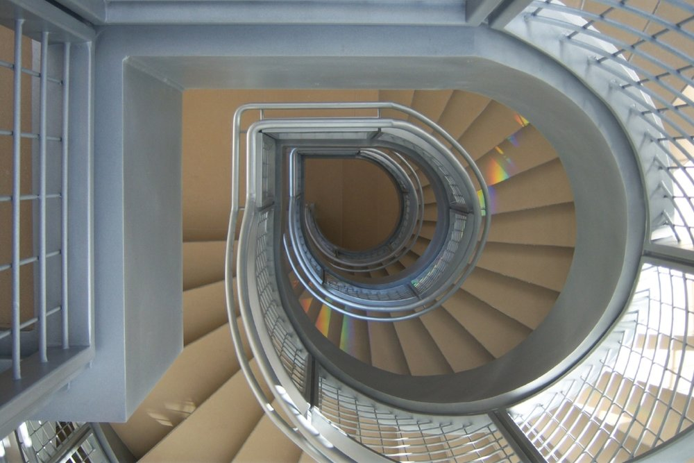 Jenterra - Helical Staircase - Irving, Texas