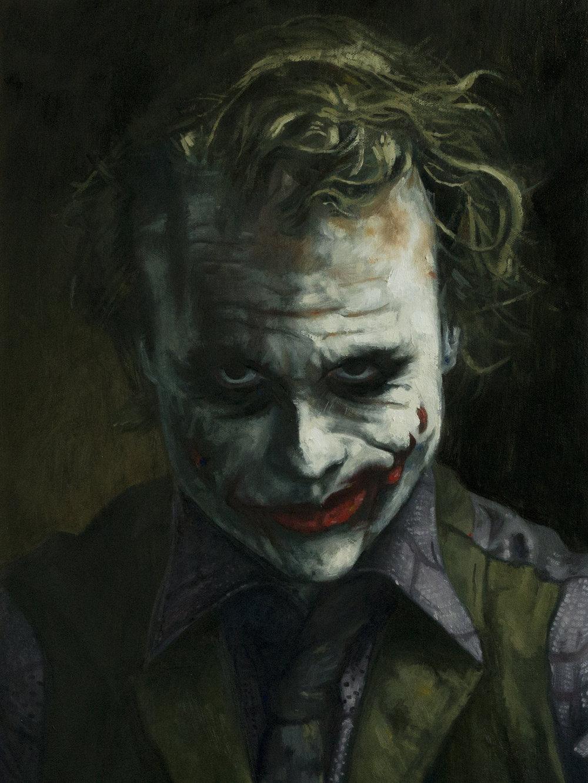 One of the greatest on screen villains of all time, Heath Ledger's Joker