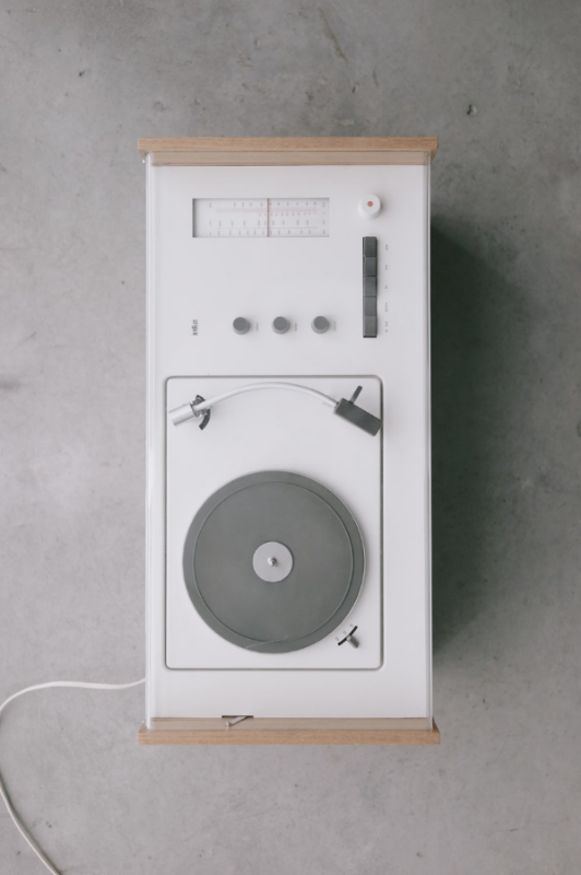 I'm a sucker for anything white including this  record player.