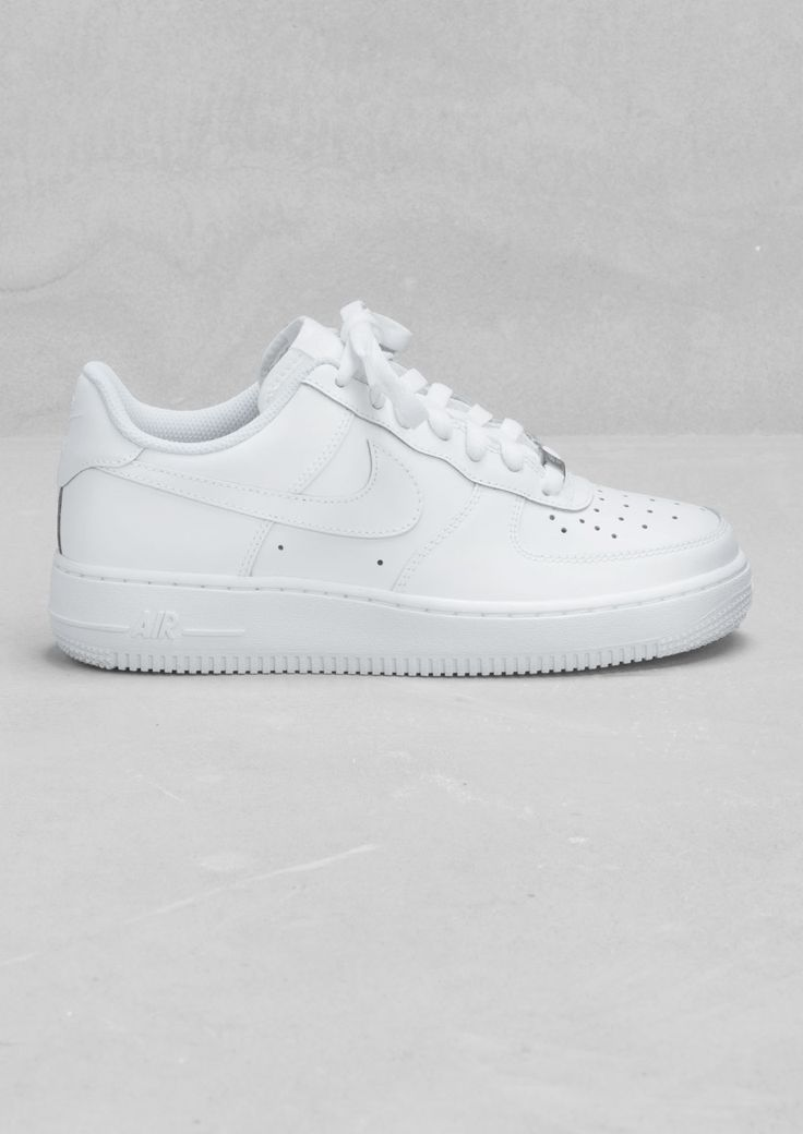 Nike, Air Force 1 Low, White,   Women's