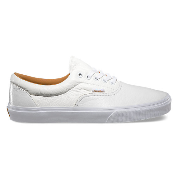 Vans, Premium Leather Era, True White, Men's