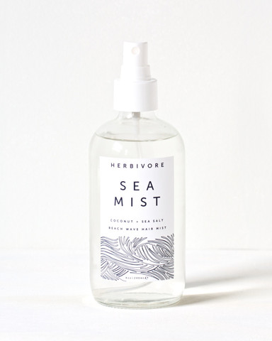 Some  Sea Mist Hair Spray  for beachy waves.