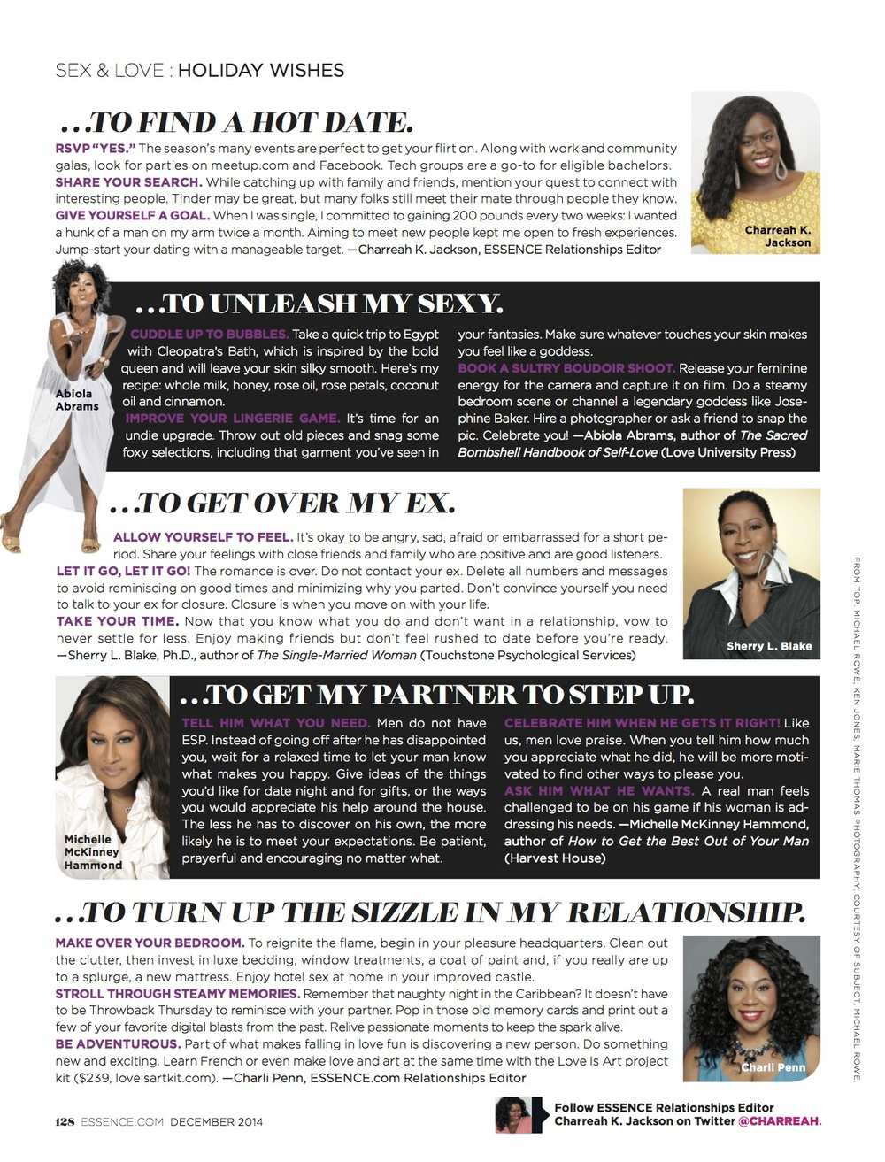 How To Turn Up The Sizzle In My Relationship, ESSENCE Dec. 2014